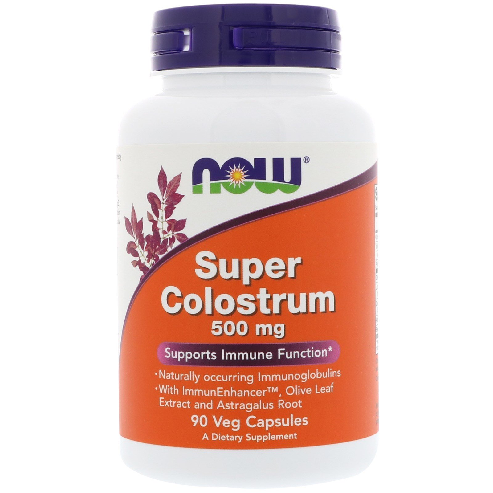 Super Colostrum, Супер Колострум, Молозиво 500 мг - 90 капсул