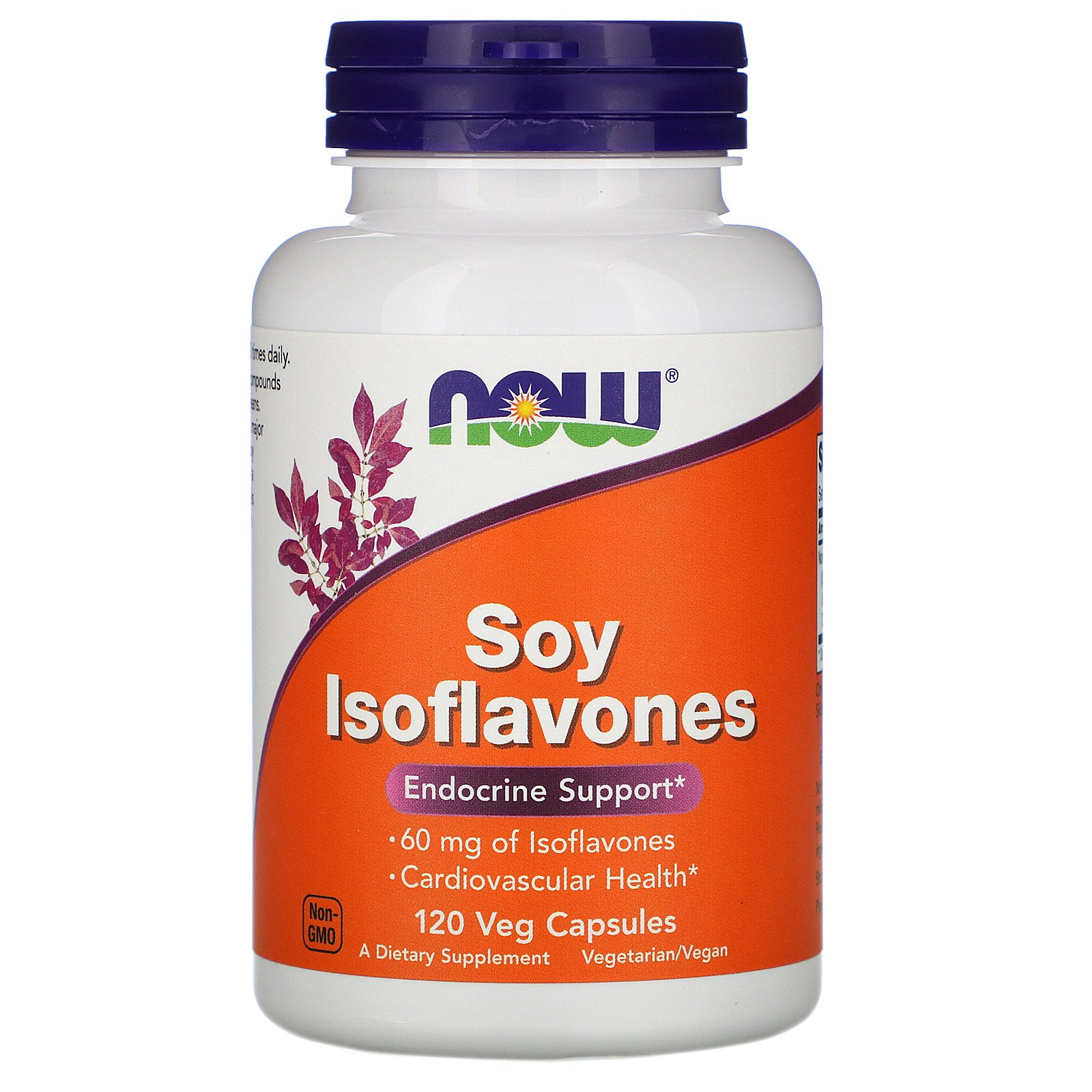 NOW Soy Isoflavones, Изофлавоны Сои 150 мг - 120 капсул