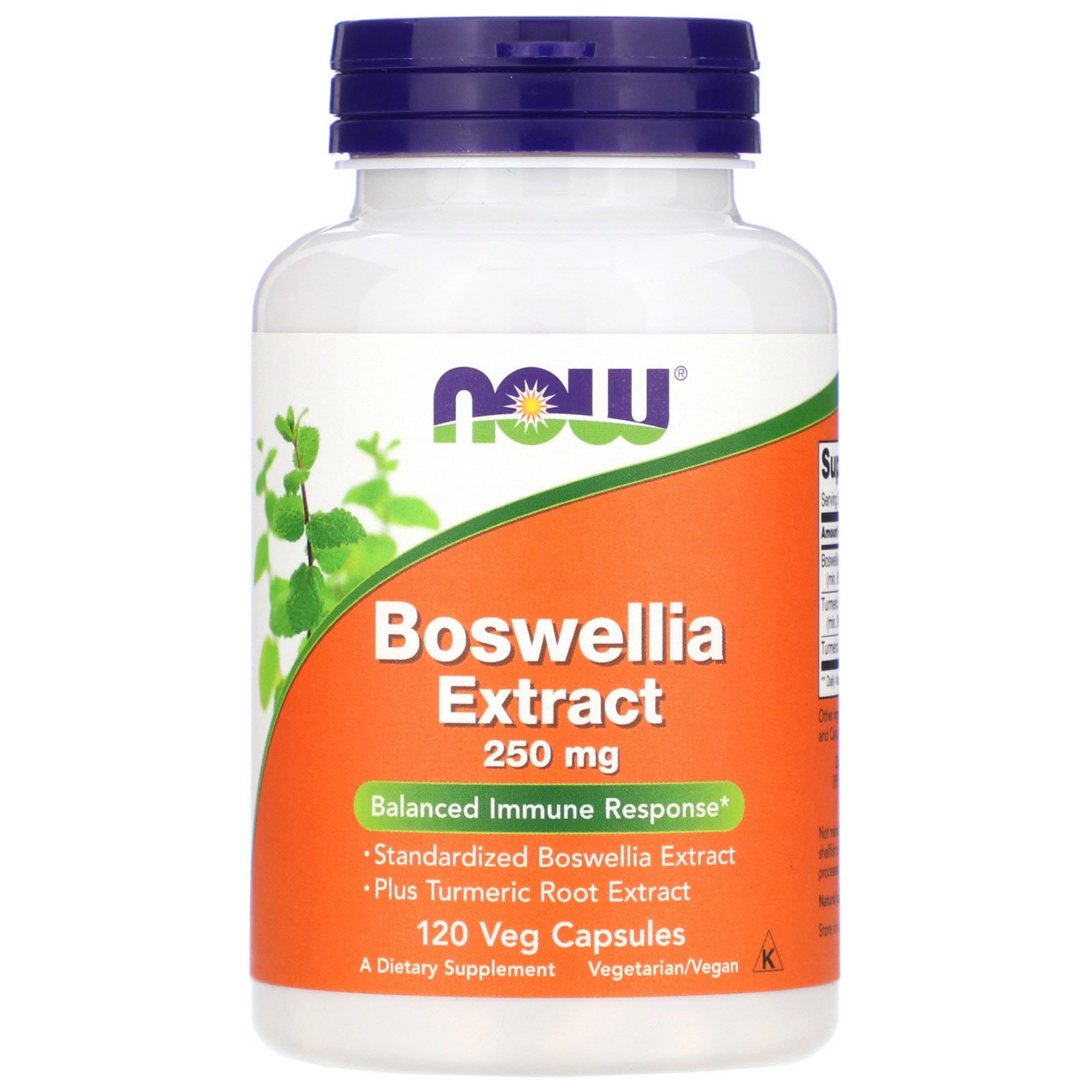 Boswellia Extract, Босвеллия Экстракт 250 мг - 120 капсул